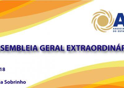 12 DE NOVEMBRO: Assembleia Geral Extraordinária