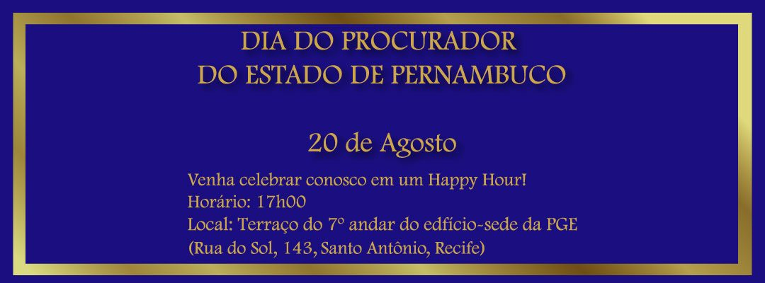 20 DE AGOSTO: Happy Hour no 7° Andar