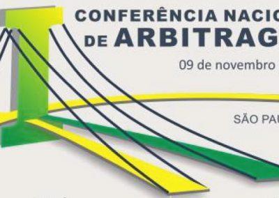 09 DE NOVEMBRO: I Conferência Nacional de Arbitragem