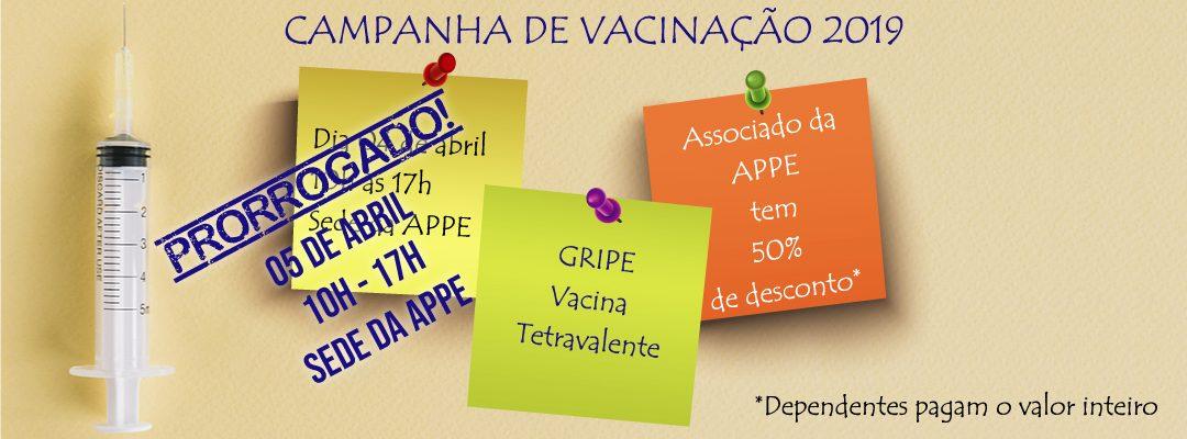 Campanha de Vacinação da APPE 2019