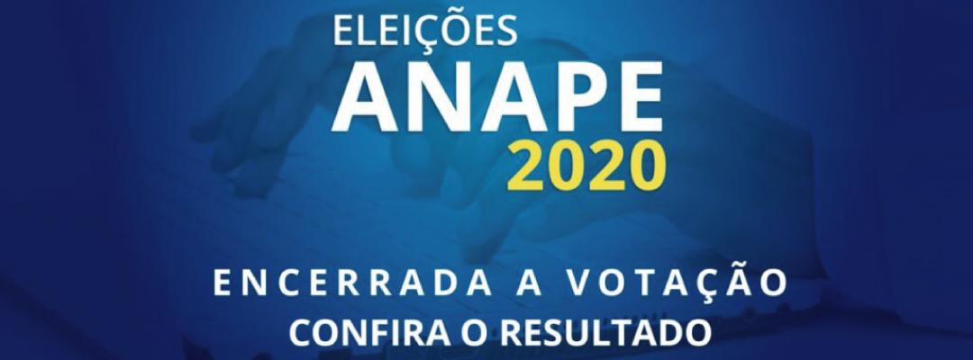 Chapa Anape para Todos é eleita para triênio 2020-2023