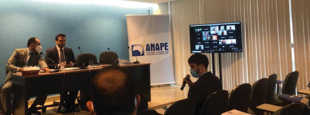 Retomada das reuniões presenciais da ANAPE conta com participação da APPE