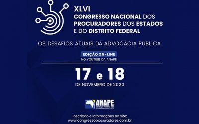 On-line, ANAPE abre XLVI Congresso